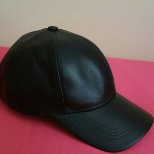 """Other - Unisex """"'Genuine leather. Hat...All sizes.."""