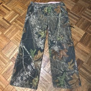 Mossy Oak Womens Outdoor Camouflage Pants SZ 12/14