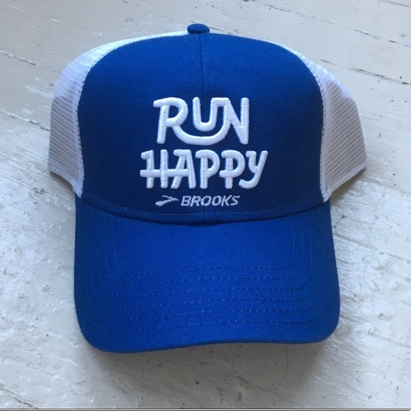 Brooks Accessories - Brooks Run Happy Hat a357c7876ce
