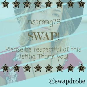 Swap for lnstrong78!