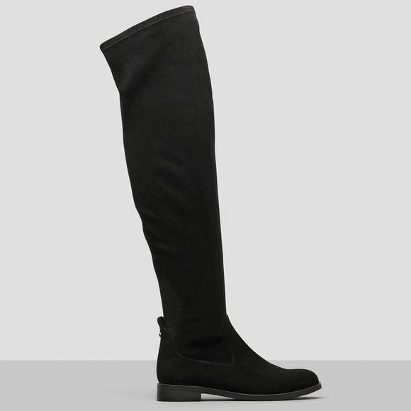 96170a41ef1 NWT Kenneth Cole Black Over The Knee Boot