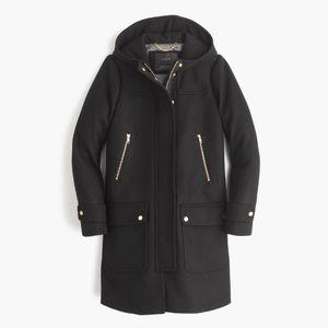 J. Crew Wool Melton Duffle Coat