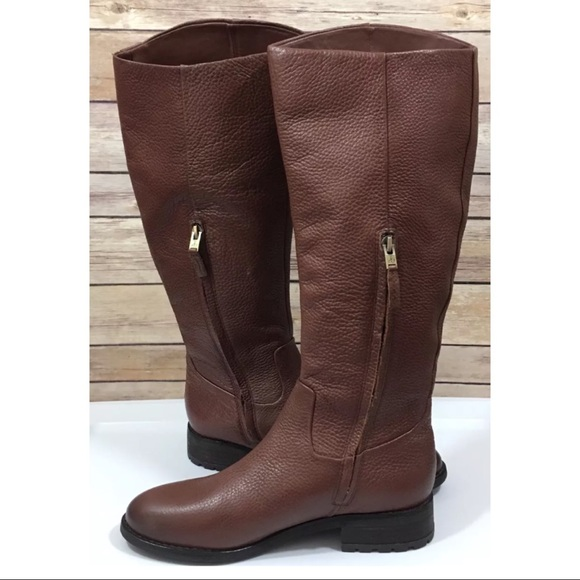 55396ab1783d NWOT Sam Edelman Ryan Knee High Boots Side Zip. M 5a0062d12fd0b7d42e11eb13