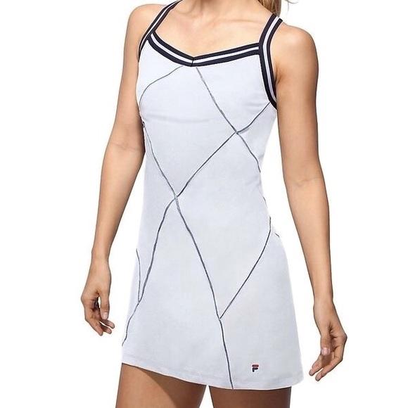 8934f3f9 Fila Heritage Tennis Dress