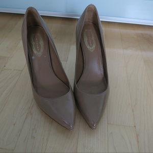 Elie Tahari Nude Pumps High Heels Size 39.5