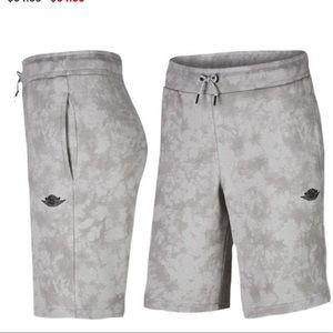 e5c8e3148a0 Air Jordan Shorts - AIR JORDAN FADE AWAY MENS SHORTS (GREY) large