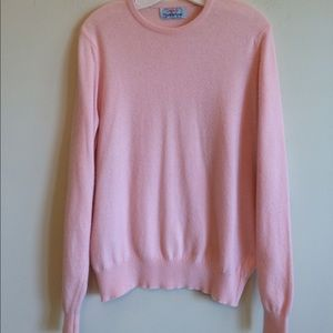 Ballantyne Sweaters - Pink Cashmere Sweater Vintage