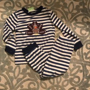 b16dff630a Pajamas - Classic Whimsy Smocked Auctions football turkey