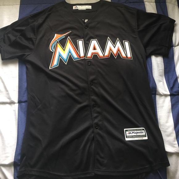super popular a8025 ed88c Giancarlo Stanton Miami Marlins MLB Jersey