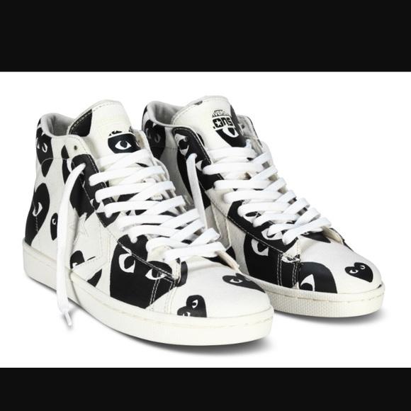 51fea30376a5 Comme des Garcons Shoes - Commes de Garçon by Converse sneakers