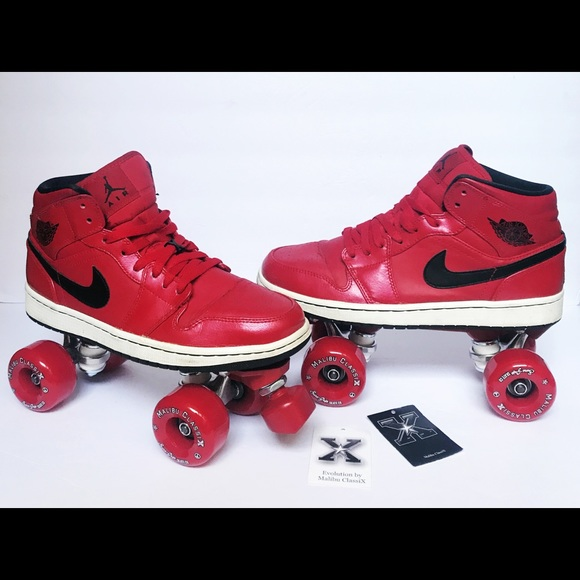 Nike Jordan Retro 1 Roller Skates AJ1 Sz 7 Youth