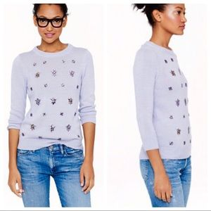 J.Crew • Lavender Cluster Sweater