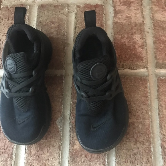 61f5fc1b46 Black Nike Presto toddler size 10c. M_5a0082a156b2d699d7125609