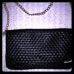 Handbags - Forever 21 Basket Weave Clutch