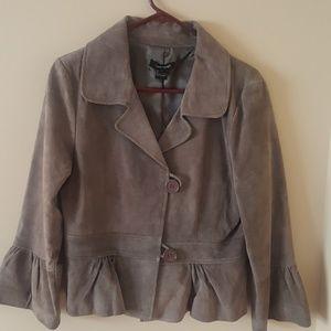 Karen Kane Suede Jacket