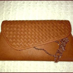 Handbags - Gorgeous brown Clutch bag **New