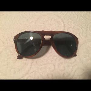 Persol Polarized Aviator Sunglasses