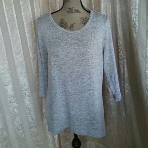 Dressbarn Silvery Women's Sweater