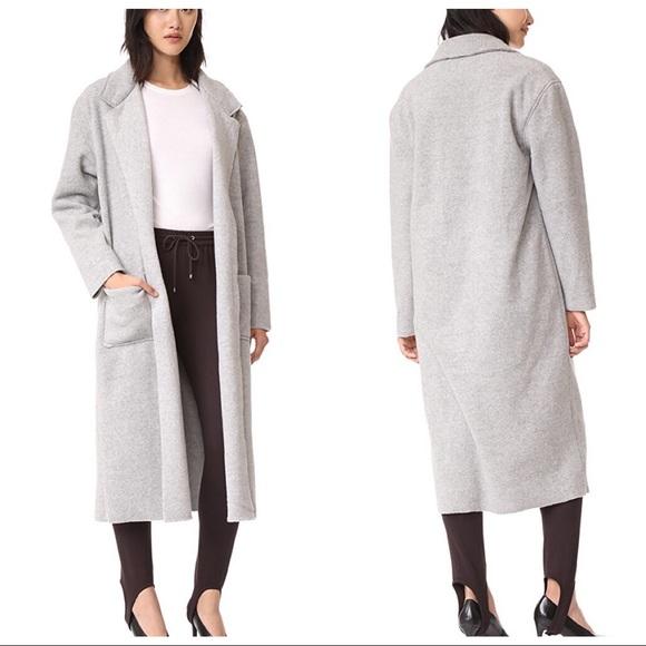 Twenty Tees Jackets & Blazers - Twenty Tees Grey Fleece Coat
