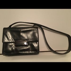 Prada evening shoulder  strap Leather pocketbook