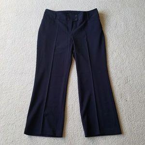 Rafaella Navy Curvy Pants