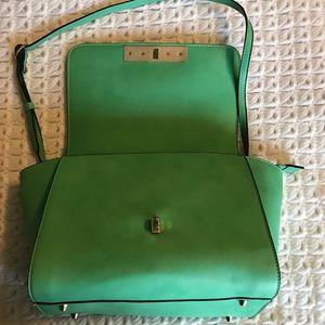 Handbags - New green crossbody satchel bag
