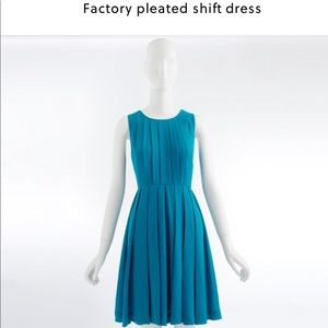 JCrew pleated dress