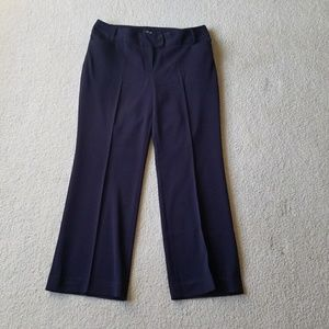Rafaella Navy Petite Pants
