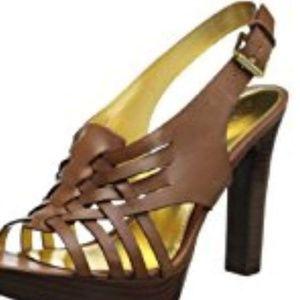 """Ralph Lauren""""Shania"""" platform heel"""