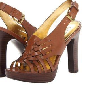 Ralph Lauren Shania platform heels
