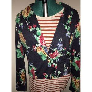Floral statement blazer!