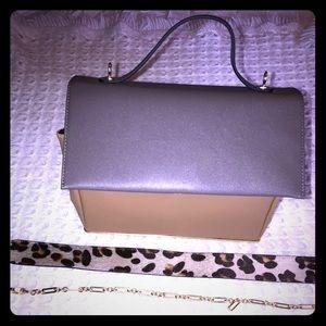Handbags - New Zara grey and brown top handle bag