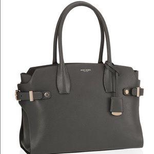 henri bendel Bags - Henri Bendel 'Carlyle' grey satchel large tote