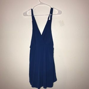 Urban outfitters size 2 sexy blue mini dress