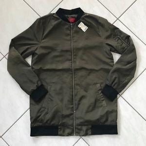 Akira Chicago Long Bomber Jacket