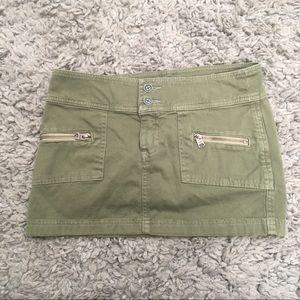 Abercrombie & Fitch Cargo Mini Skirt