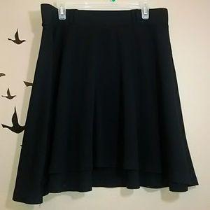 Skirt - Torrid black swing/skater