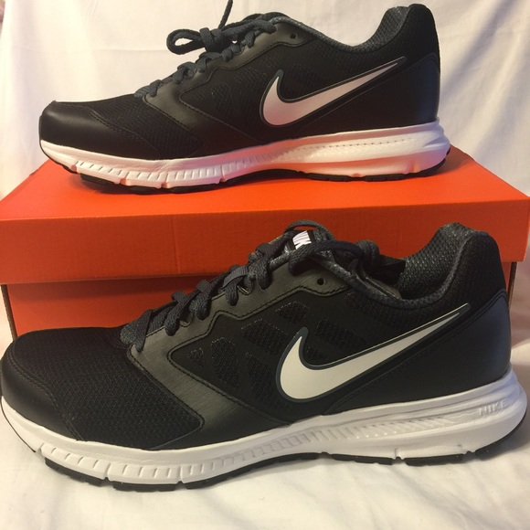 Nike Downshifter 6 men's running shoes black new