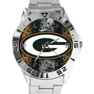 Other - Green Bay Packer Logo Stainless Steel Watch
