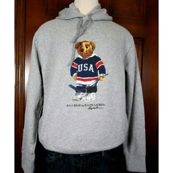 Polo By Ralph Lauren Sweaters Limited Edition Polo Bear Hoodie