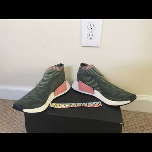 560486d314609 adidas Shoes - Adidas NMD CS2 primeknit trace green pink BY8781