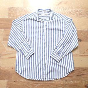 Diane Von Furstenburg striped Button down shirt