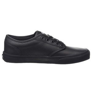 vans black leather atwood