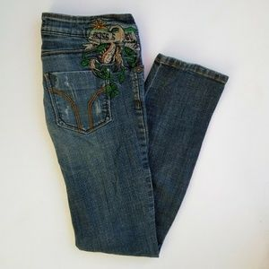 Miss Sixty Skinny Jeans Embellished