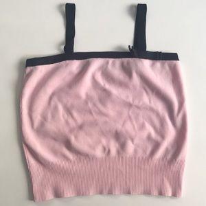 Millennial Pink Black Camisole 🎆