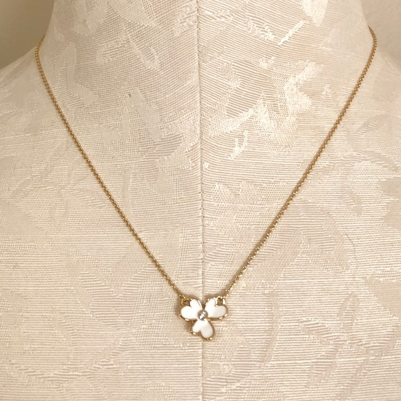 f559526c38fd0 NWT kate spade Pansy Blossom Necklace! NWT