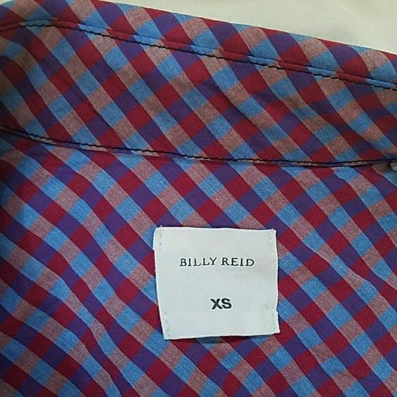 Billy Reid Dresses - Billy Reid Plaid Belted Shirt Dress