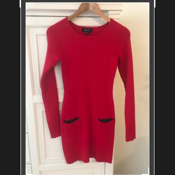 c54e3029194 BCX Dresses   Skirts - BCX rib-knit sweater dress with pockets