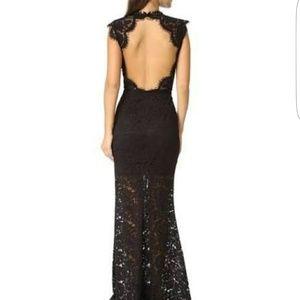 Rachel Zoe lace gown
