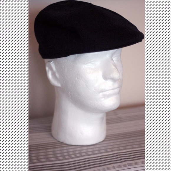 2a145849a47d04 Kangol Accessories | Vintage 7002 Tropicap Ii Hatcap In Black | Poshmark